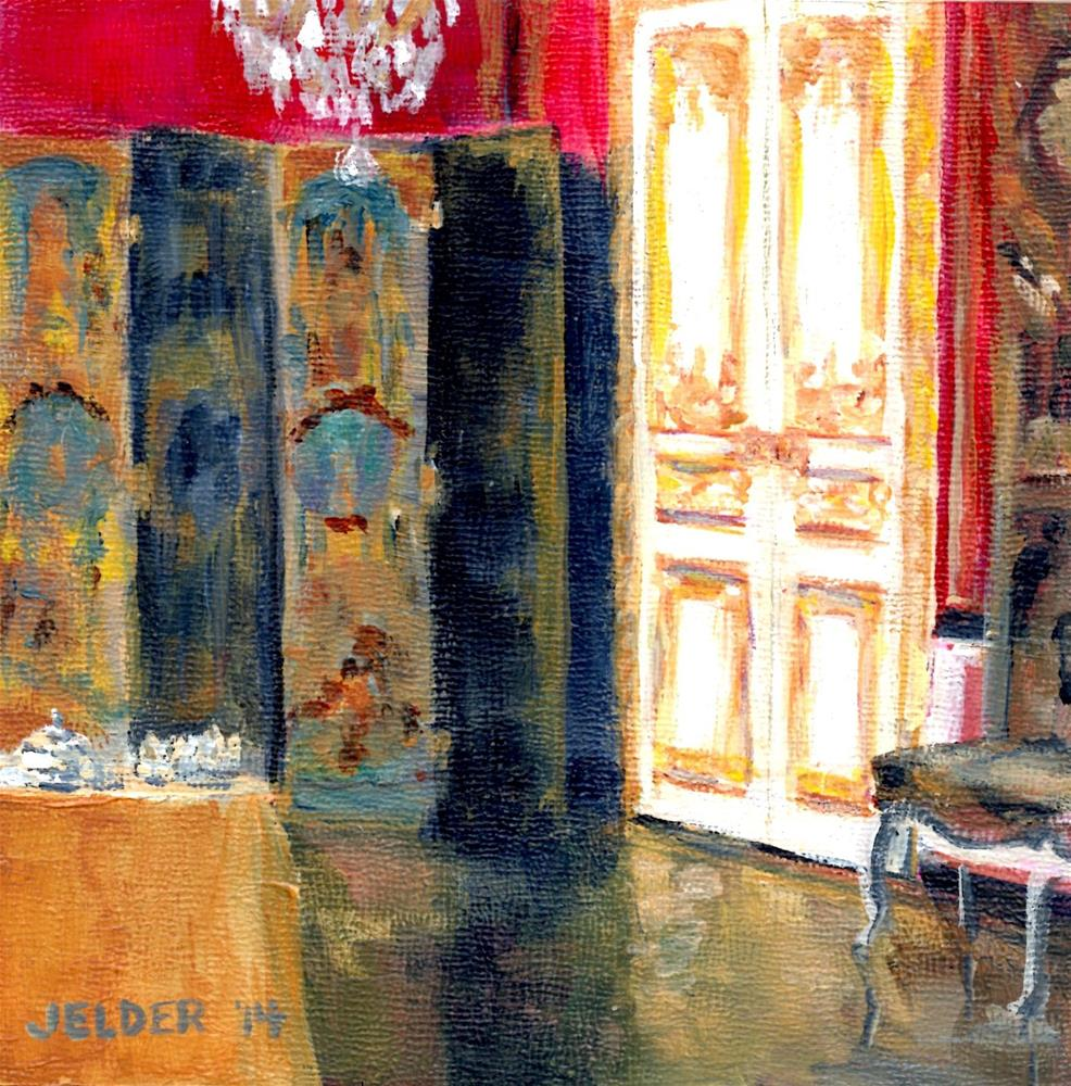"""Paris No. 62"" original fine art by Judith Elder"