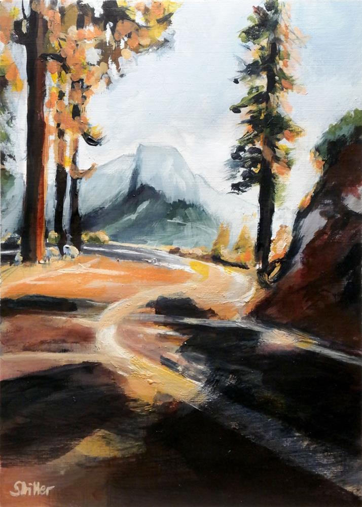 """3012 California Corner"" original fine art by Dietmar Stiller"
