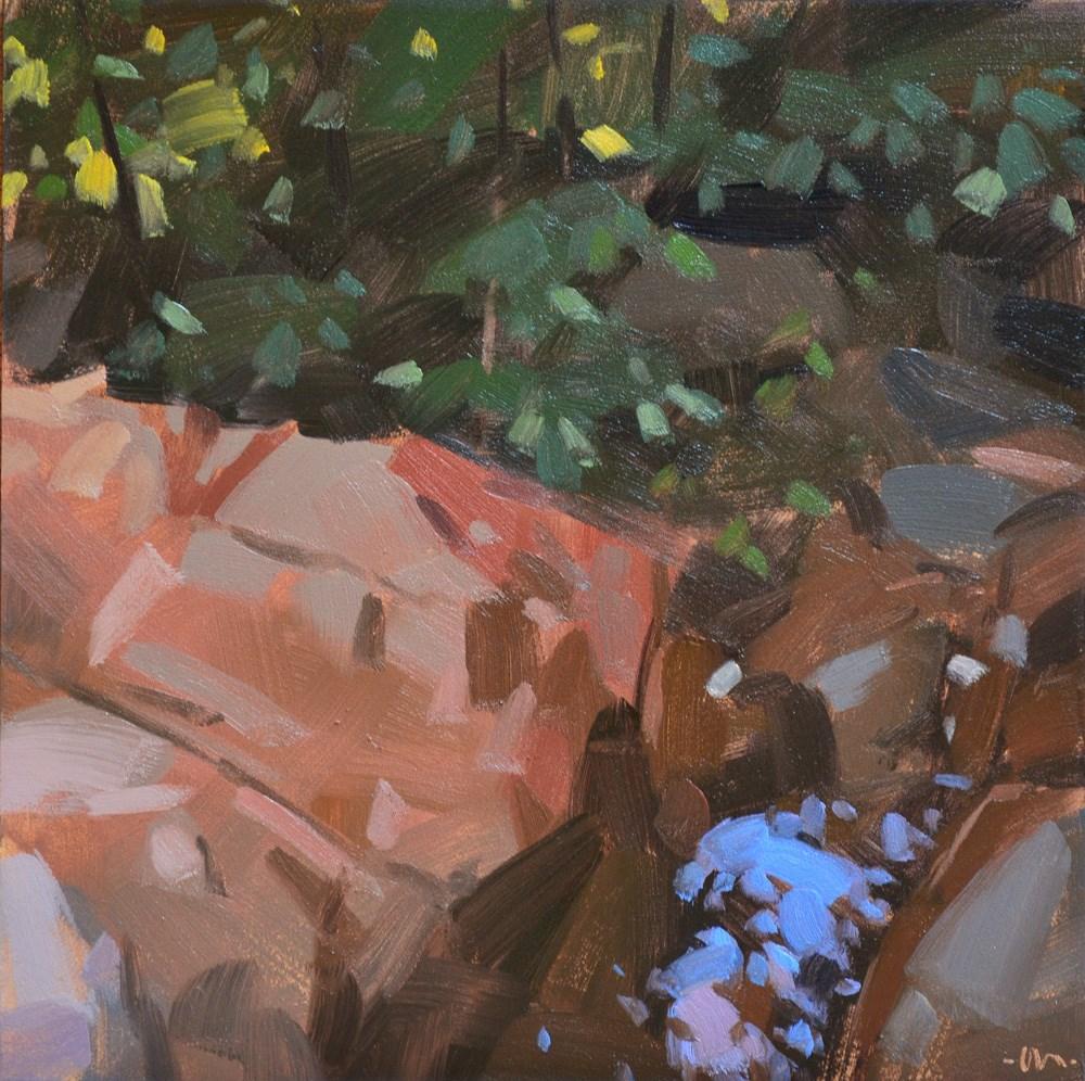 """Abstract Landscape 1"" original fine art by Carol Marine"