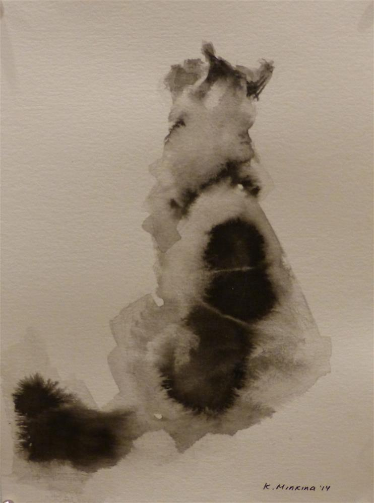 """adopt41"" original fine art by Katya Minkina"