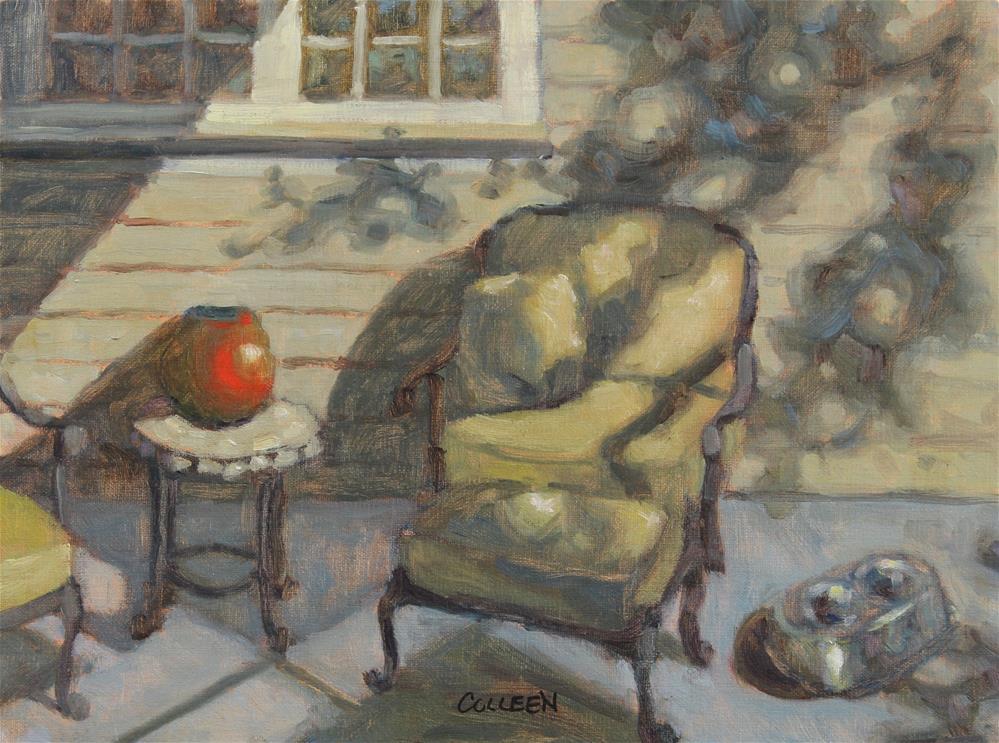 """Julia's Porch"" original fine art by Colleen Parker"