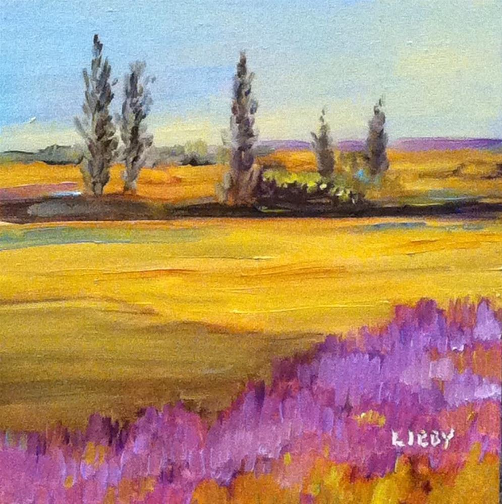 """Eastern Sky"" original fine art by Libby Anderson"