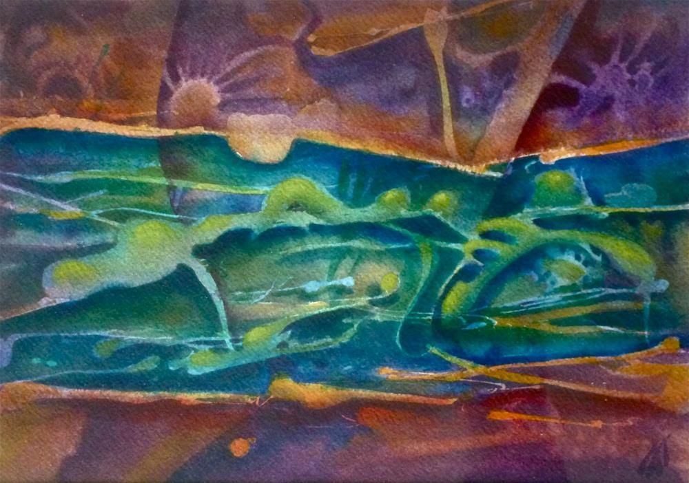 """""""River Requiem"""" original fine art by Mark Allison"""