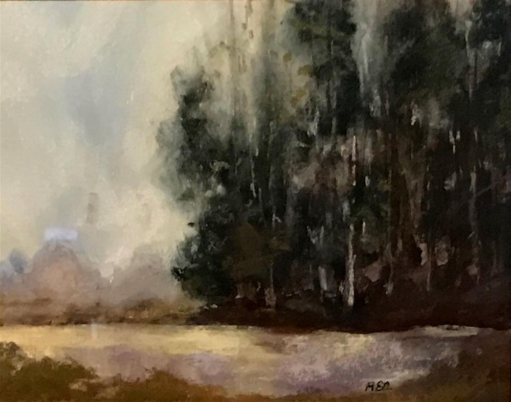 """after the rain"" original fine art by Betty Argiros"