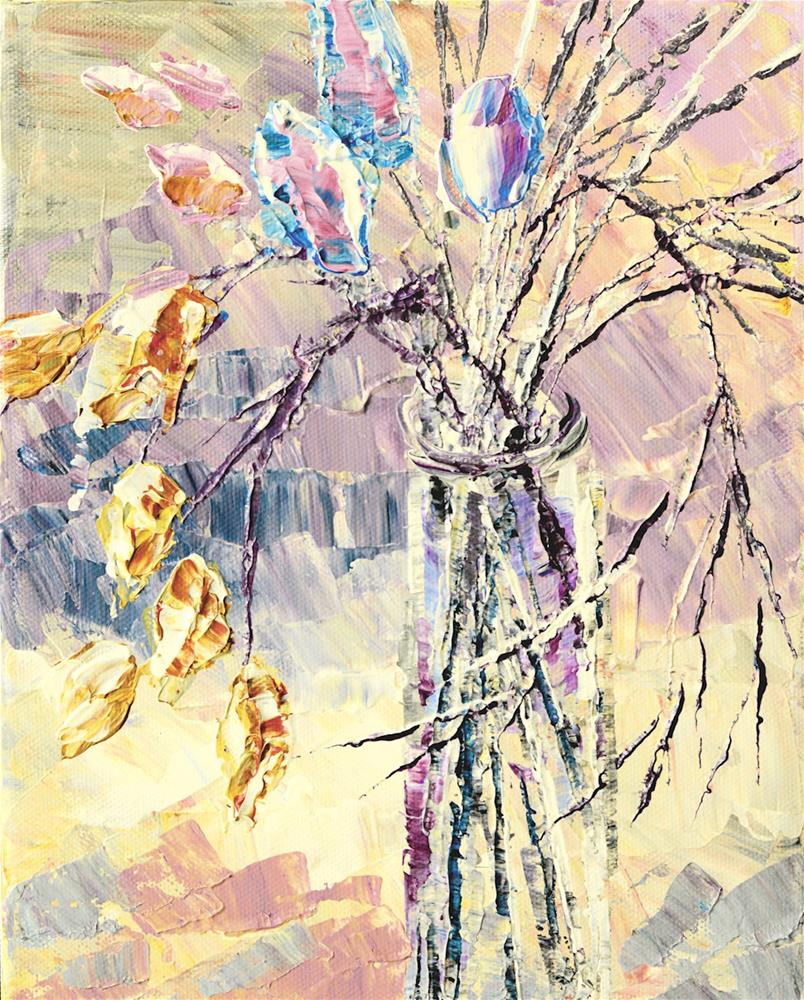 """Gentle Slumber"" original fine art by Tatiana Iliina"