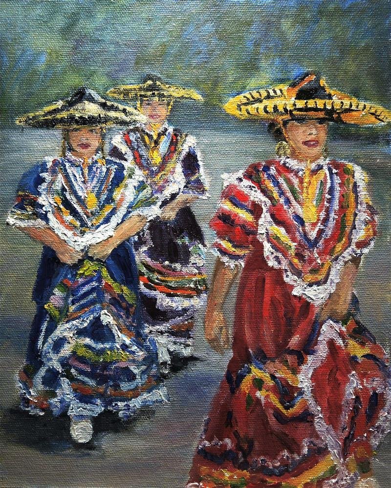 """""""After The Dance"""" original fine art by Candi Hogan"""