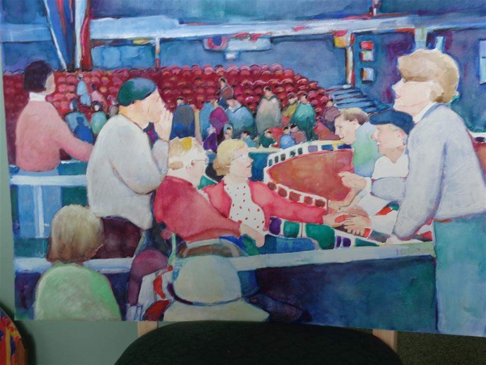 """After The Show"" original fine art by meribeth coyne"