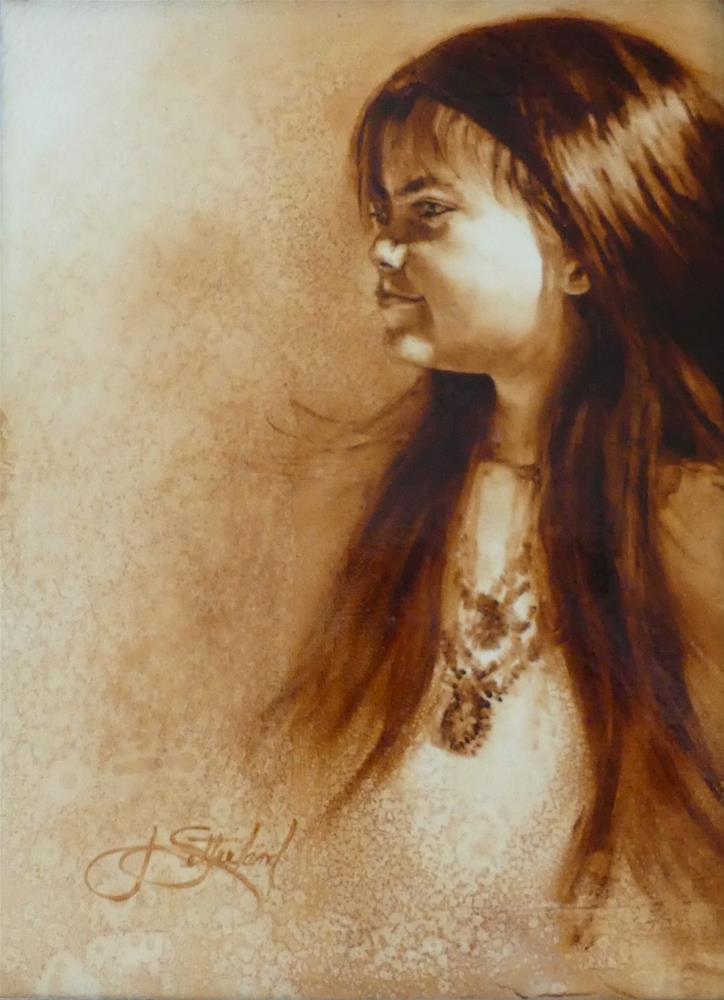 """""""Bejeweled"""" original fine art by Janet Setterland"""