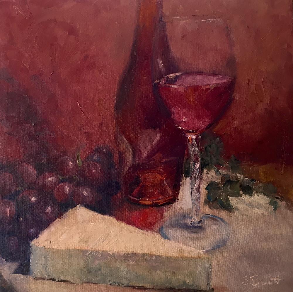 """Delicate and Fruity"" original fine art by Sherri Burritt"