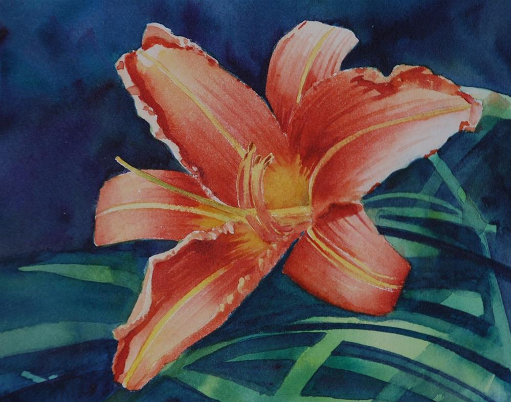 """""""Daylily"""" original fine art by Mary Anderson"""