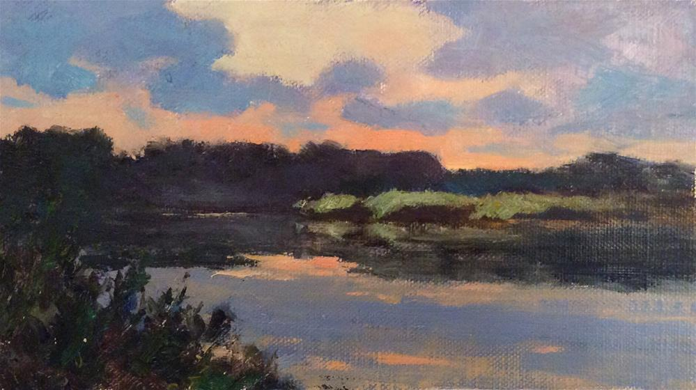"""Last Light"" original fine art by John Shave"