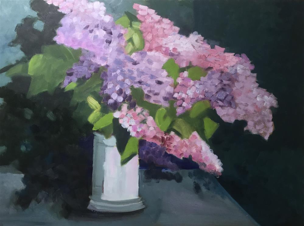 """""""Untitled"""" original fine art by Carol Wiley"""