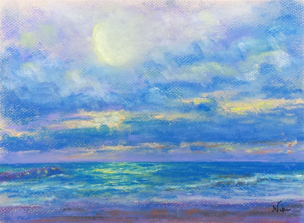 """Water and Light"" original fine art by Niki Hilsabeck"