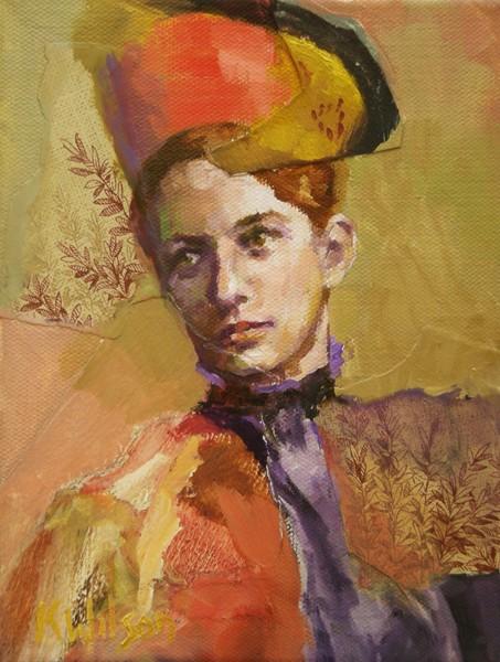 """La Matadora"" original fine art by Katie Wilson"