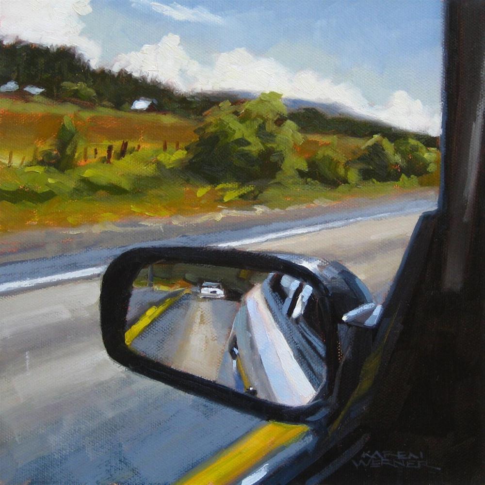 """""""Road Trip"""" original fine art by Karen Werner"""