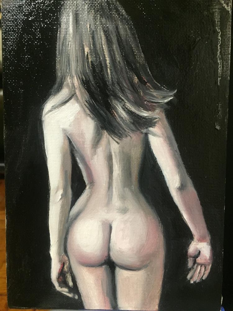 """""""Girl"""" original fine art by tian yin"""