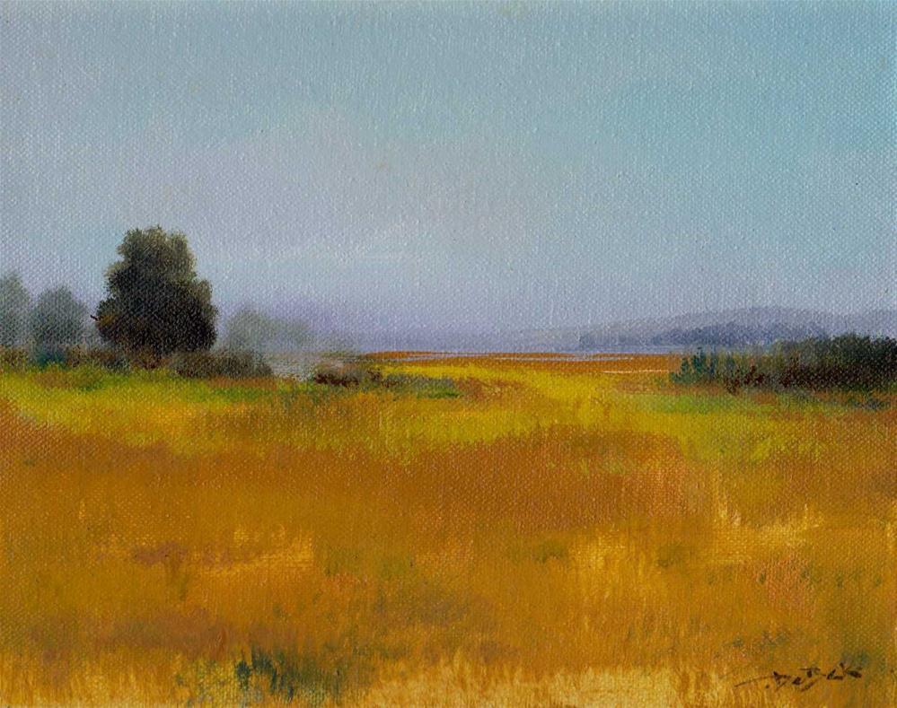 """""""mist"""" original fine art by Mark DeBak"""