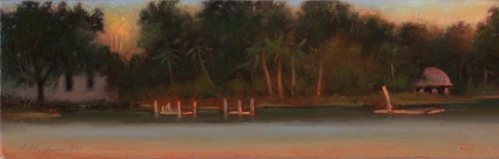 """Sunset Strip #20: Lake Howell"" original fine art by Carol L Adamec"