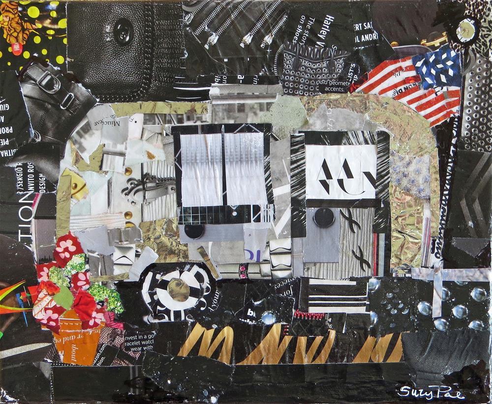 """Little Air Stream"" original fine art by Suzy 'Pal' Powell"