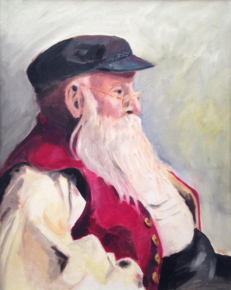 """Ralph"" original fine art by Cornelis vanSpronsen"