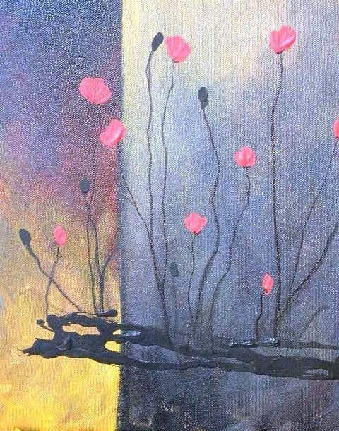 """Texas Fine Art and Abstract artist, Barbara Lemley"" original fine art by Barbara Lemley"