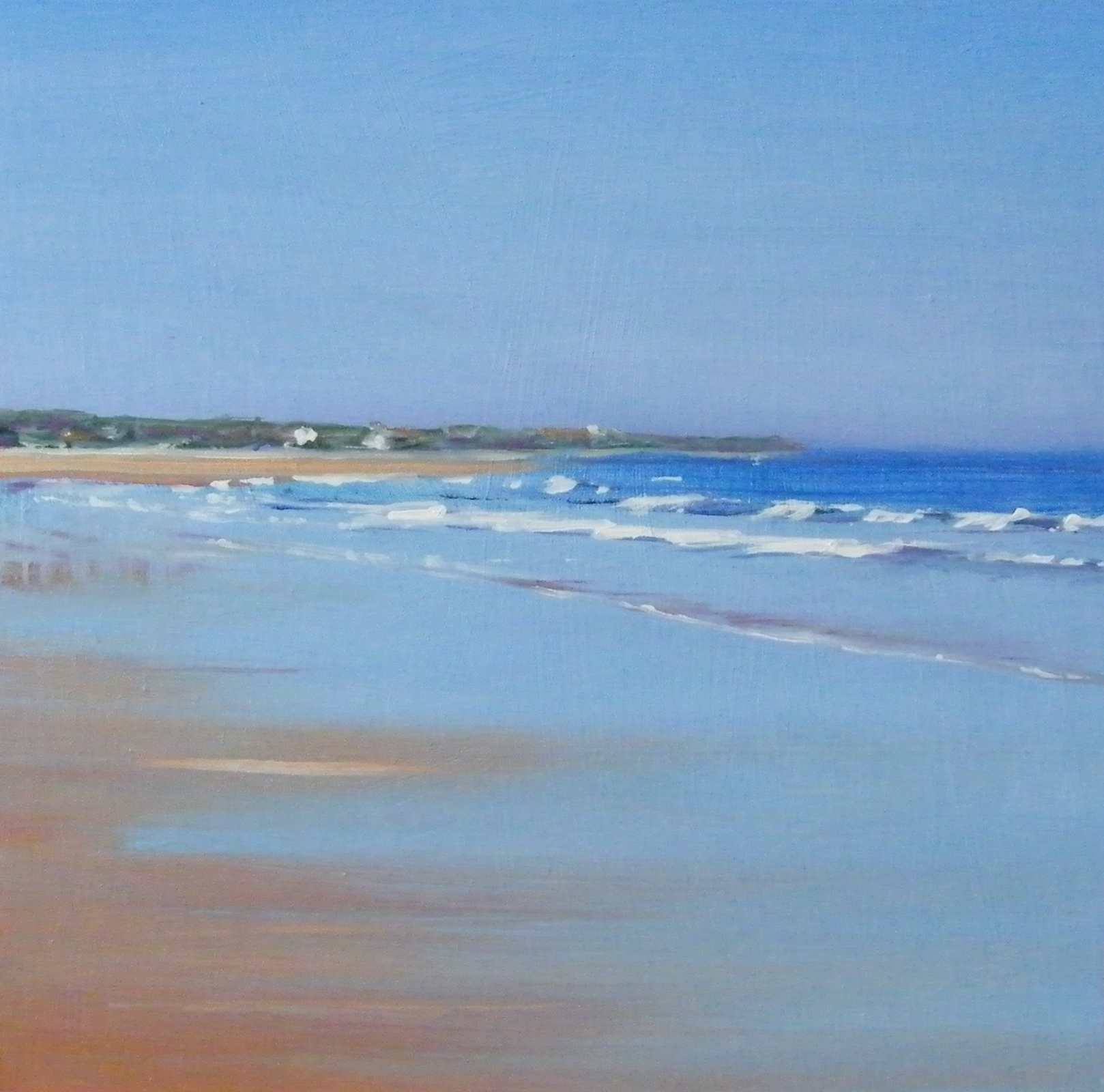 """Seaburn 2"" original fine art by Ken Devine"