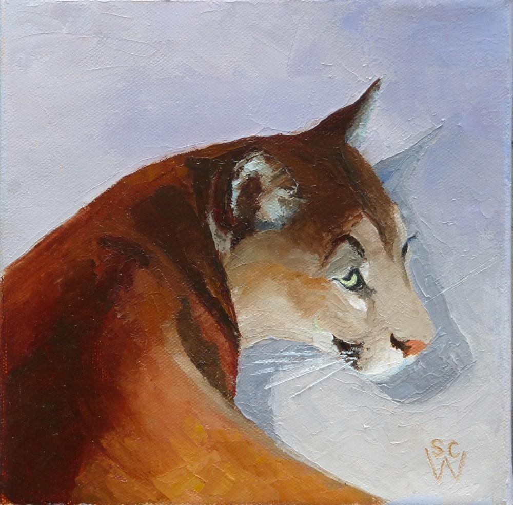 """Cruz2"" original fine art by Susan Woodward"