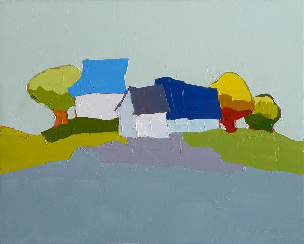 """""""Bright Day"""" original fine art by Donna Walker"""