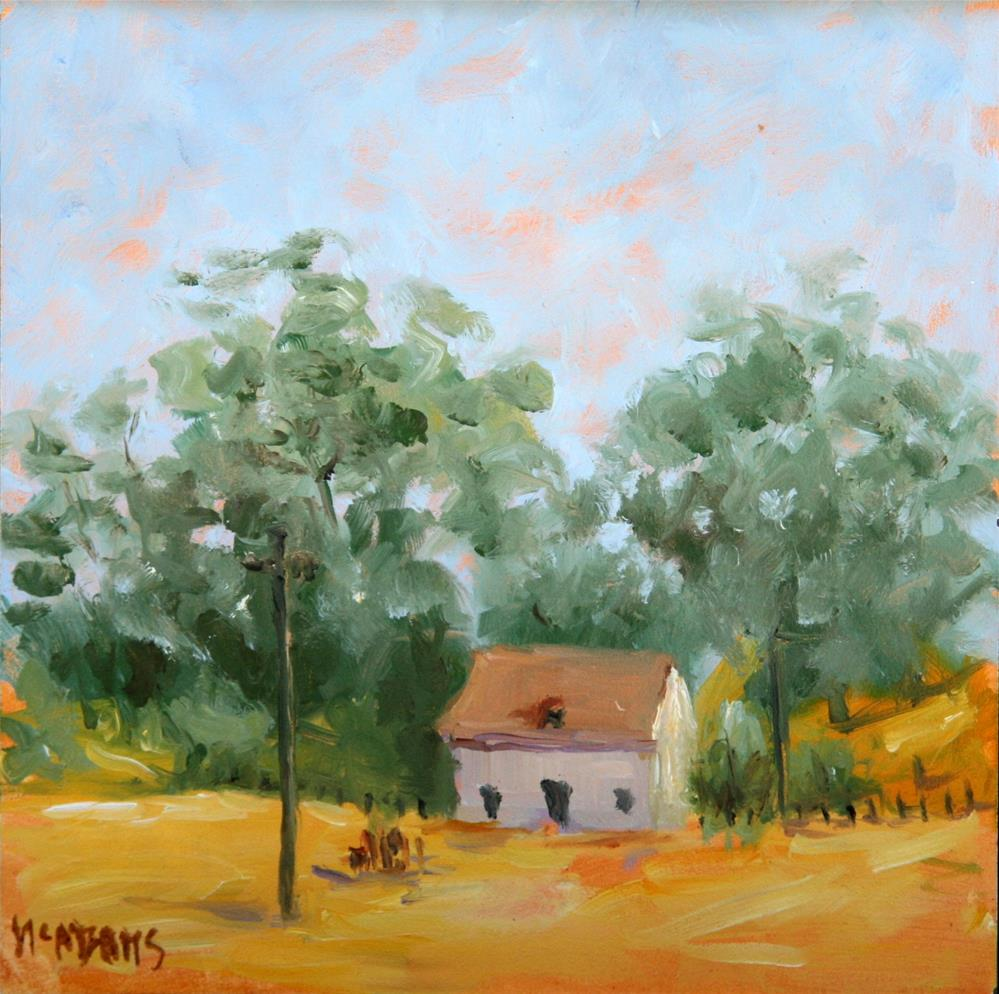 """California fields of gold."" original fine art by Phyllis McAdams"