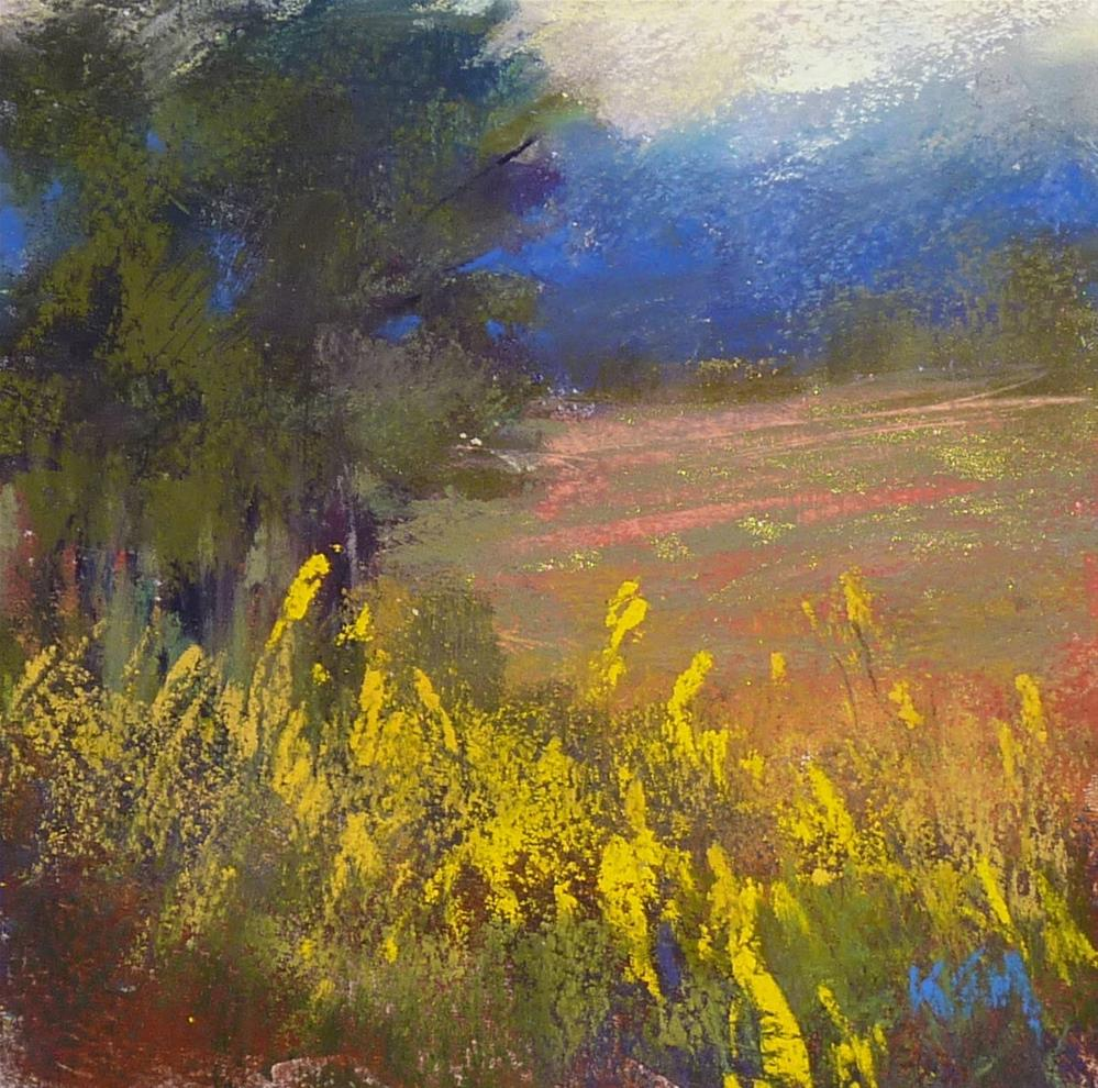 """Three Reasons to Try a Plein Air Paint-Out"" original fine art by Karen Margulis"