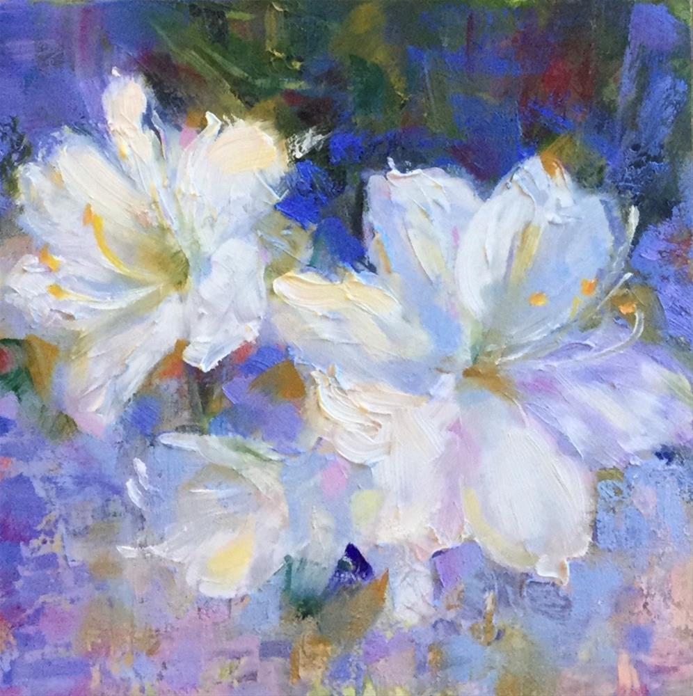 """April Abundance"" original fine art by Charlotte Fitzgerald"