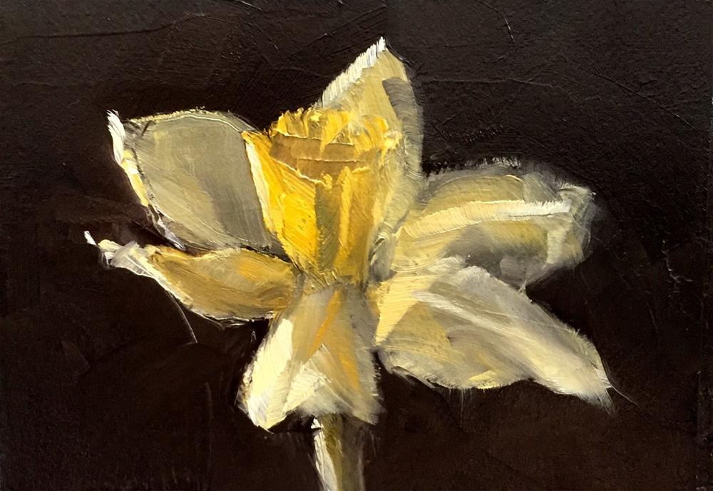 """""""Daffodil II"""" original fine art by Gary Bruton"""