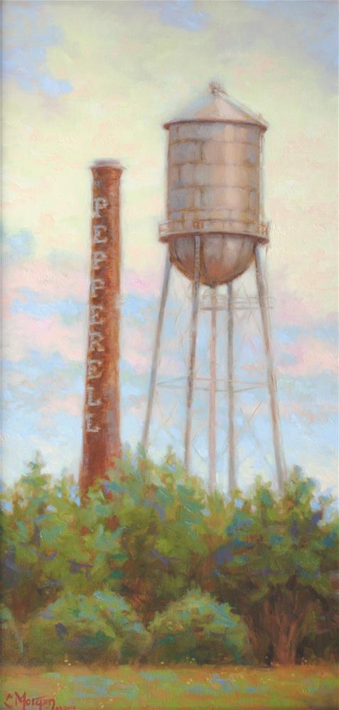 """Remnant"" original fine art by Cecile W. Morgan"