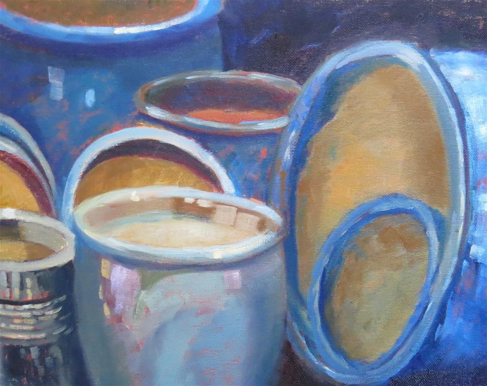 """""""Ceramica Mexicana"""" original fine art by Pam Holnback"""
