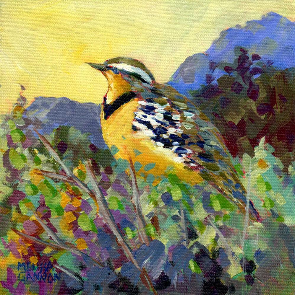 """""""Vantage Point"""" original fine art by Melissa Gannon"""