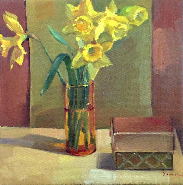 """""""The Gifts of Spring"""" original fine art by Sarah Sedwick"""