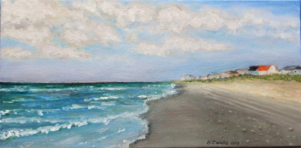 """Beach Stroll"" original fine art by Bebe Combs"
