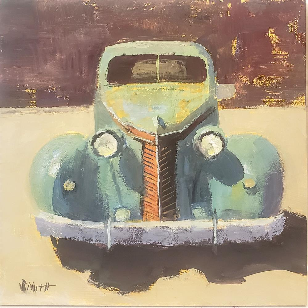 """Studebaker"" original fine art by Barbie Smith"