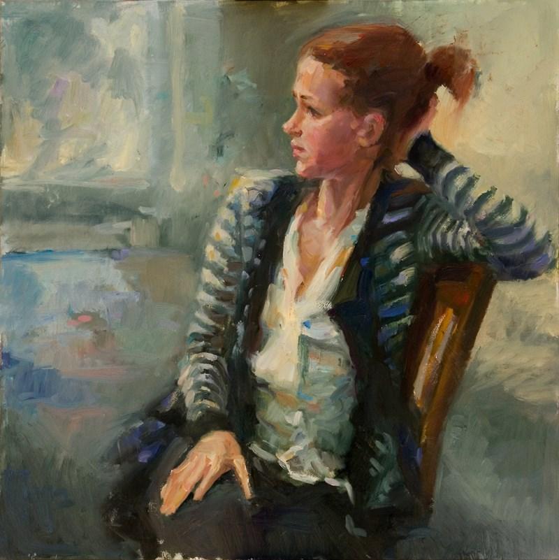 """""""Lost in Light"""" original fine art by Julie Snyder"""