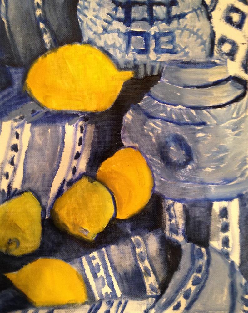 """""""Meyer Madness"""" original fine art by Pamela Hoffmeister"""