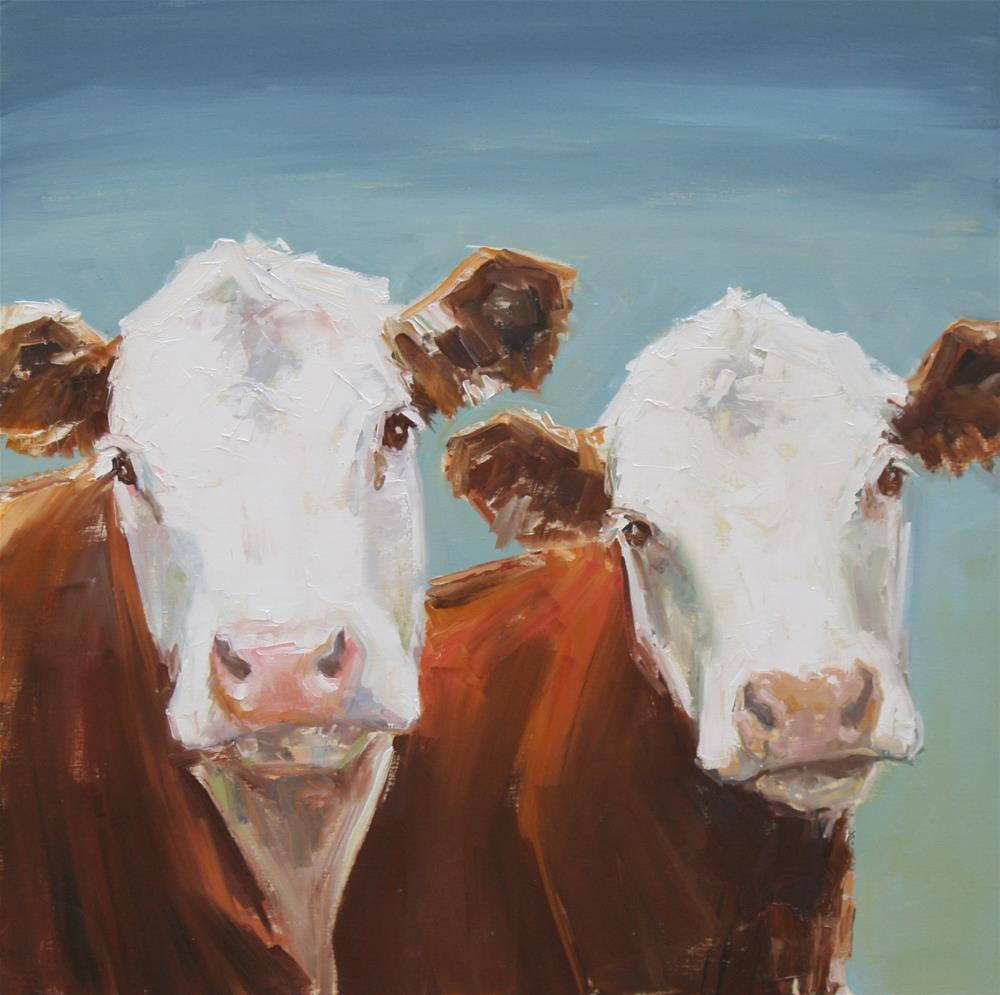"""""""just the two of us"""" original fine art by Carol Carmichael"""