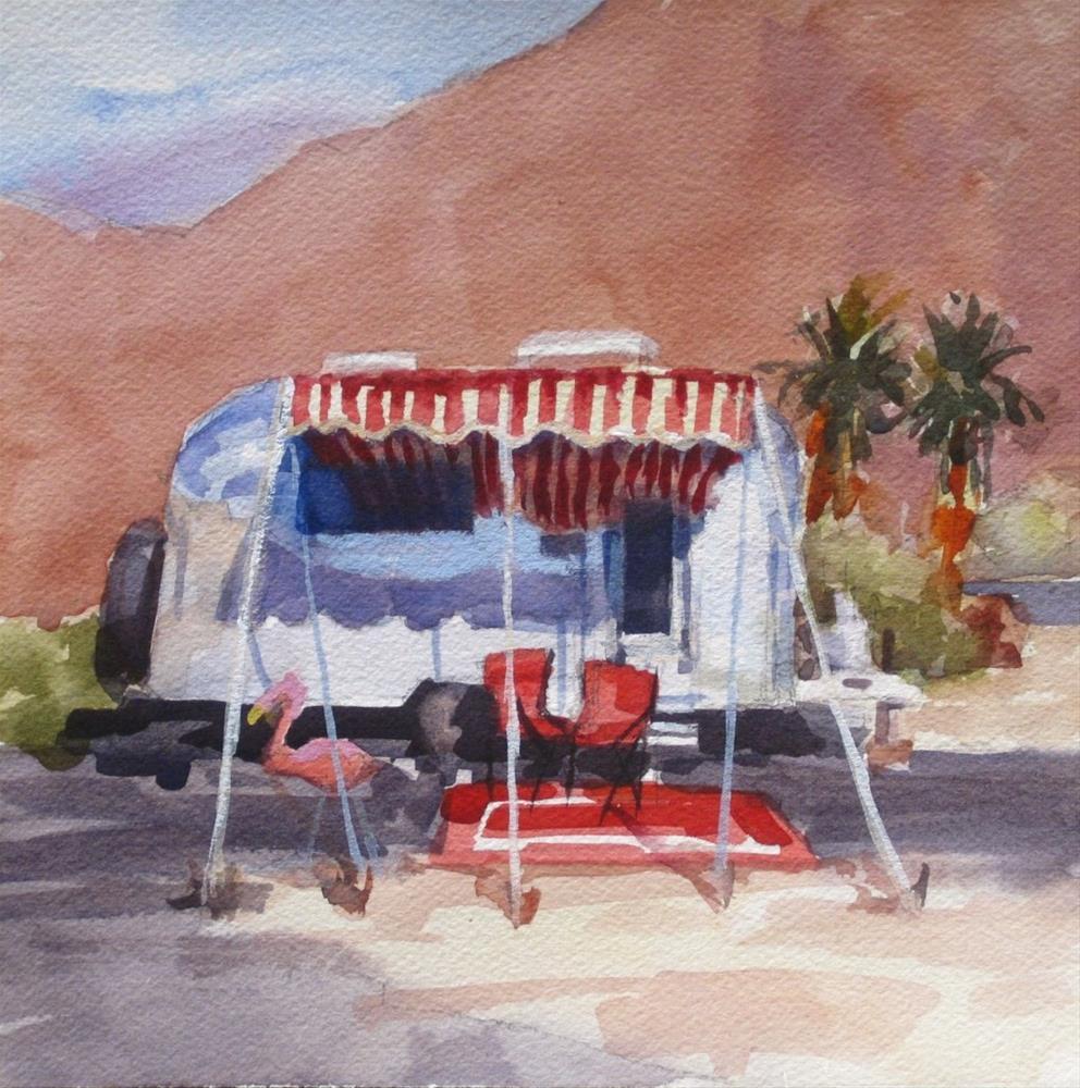 """Desert Romance"" original fine art by Karen Werner"
