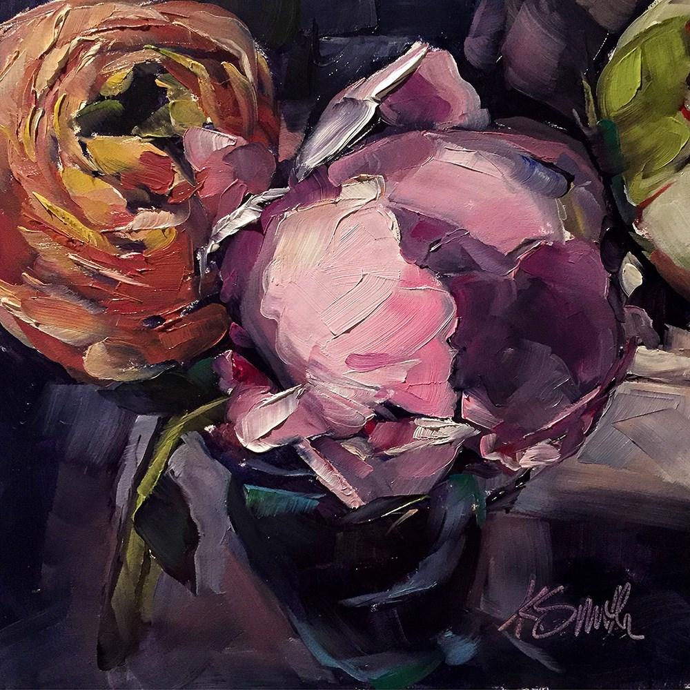"""""""swoon"""" original fine art by Kim Smith"""