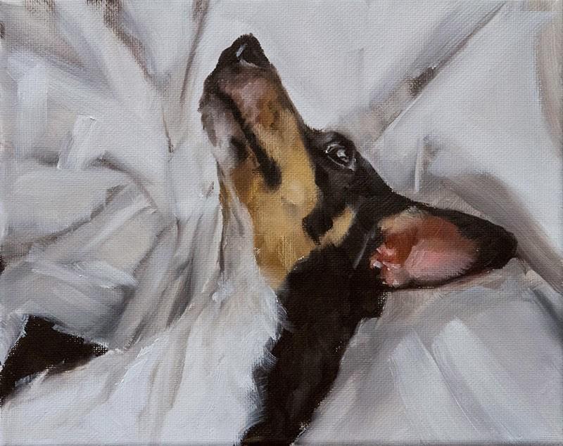 """Frida in Zorn Palette"" original fine art by Clair Hartmann"