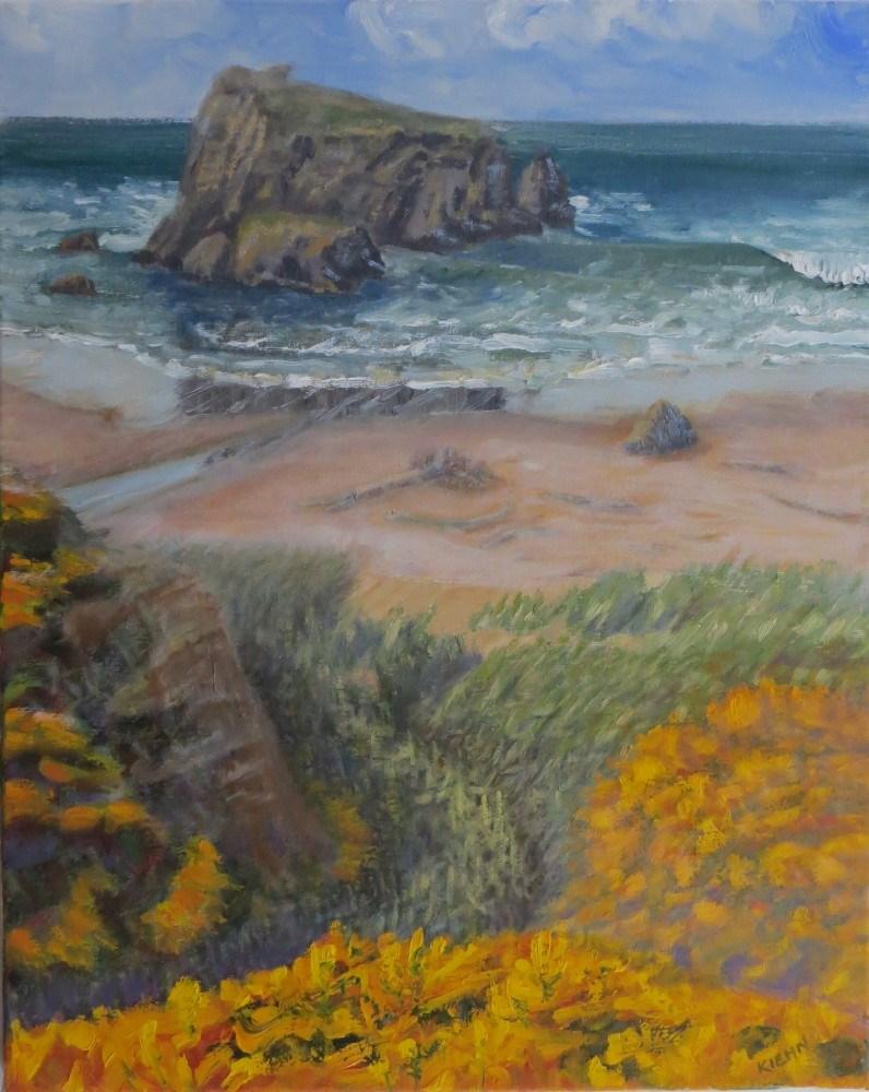 """Wet Sand"" original fine art by Richard Kiehn"