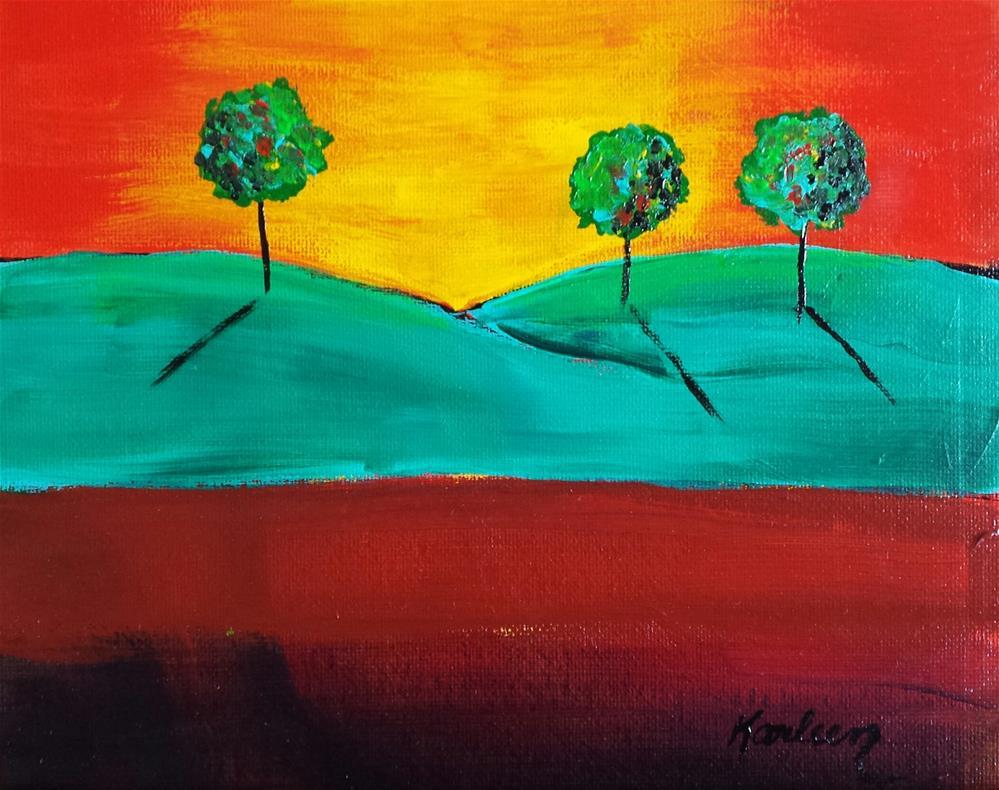 """Into the Light"" original fine art by Karleen Kareem"