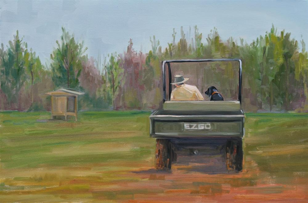 """life is good"" original fine art by Carol Carmichael"