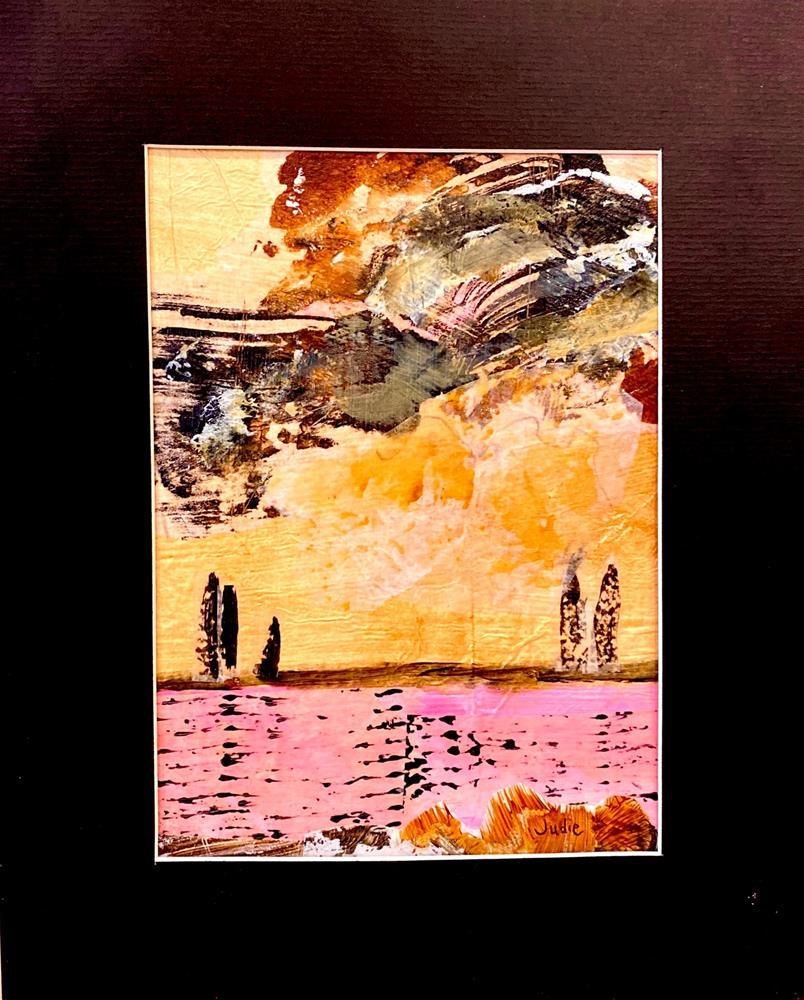 """""""SINGING IN THE RAIN"""" original fine art by Judie Mulkey"""