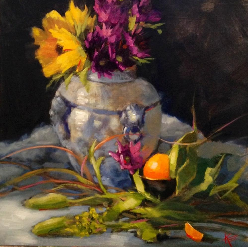 """Touch of Sunshine"" original fine art by Krista Eaton"