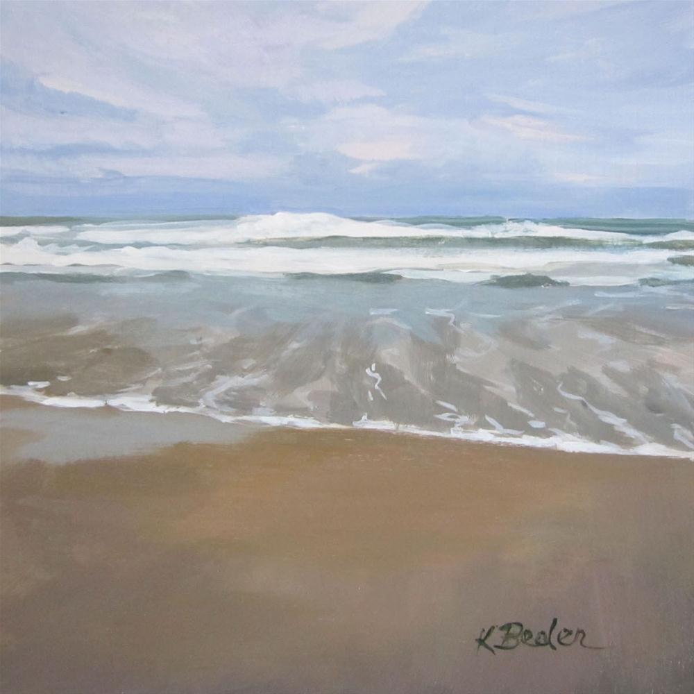 """""""Ocean"""" original fine art by Kaethe Bealer"""